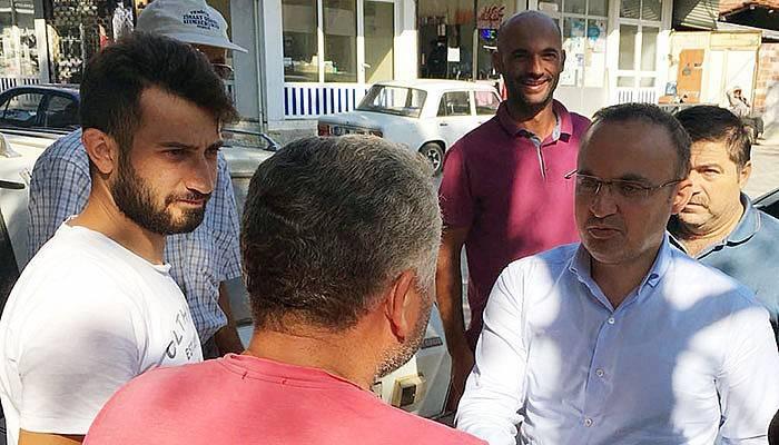 Turan'dan vatandaşın talebine anında çözüm