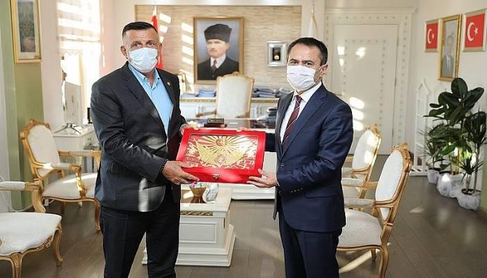 MHP Milletvekili Arkaz'dan Vali Aktaş'a Ziyaret