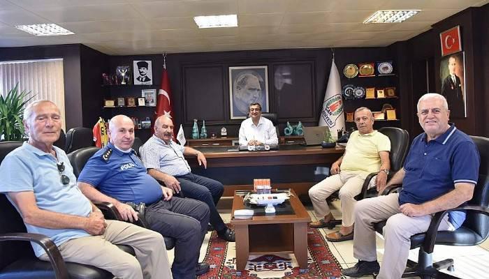 Eski Çevre Bakanı Üçpınarlar'dan Başkan Öz'e ziyaret