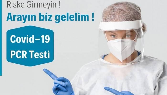ÖZEL BİGA CAN HASTANESİ'NDEN EVDE PCR TESTİ HİZMETİ