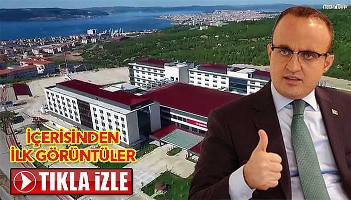 İşte Çanakkale'nin yeni hastanesi (VİDEO)
