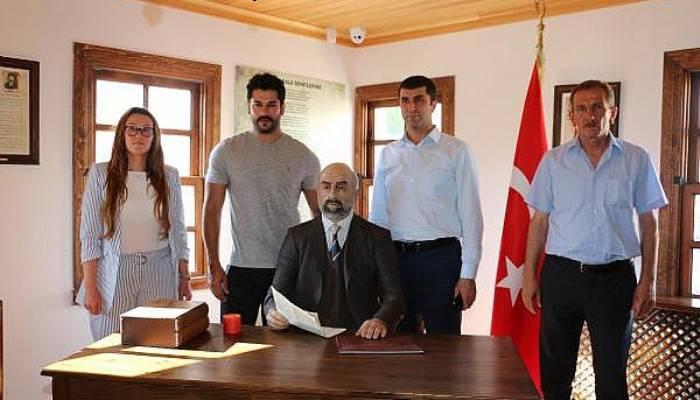 Özçivit'ten anlamlı ziyaret (VİDEO)