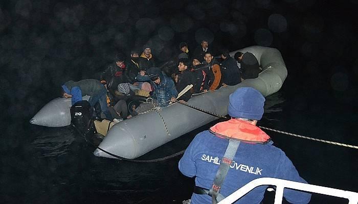 Çanakkale'de 2 haftada 515 kaçak göçmen yakalandı