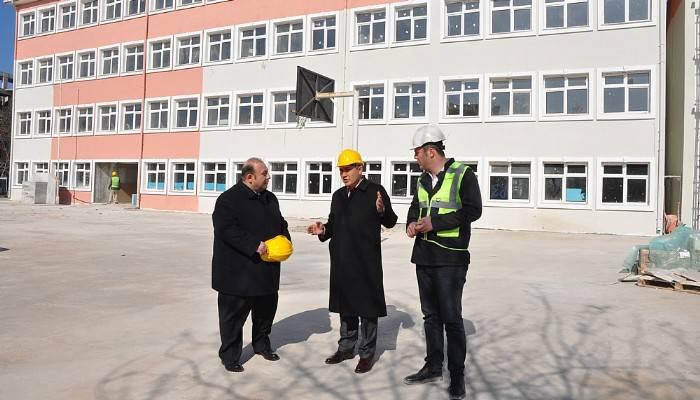 Atatürk İlkokulu güçlendiriliyor