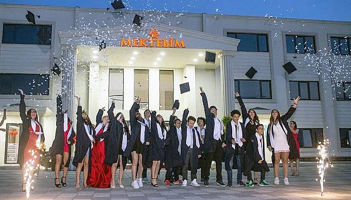 Mektebim'de mezuniyet coşkusu