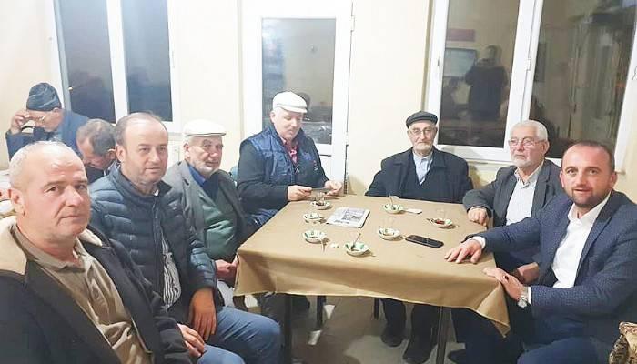 AK Parti Biga İlçe Teşkilatının köy ziyaretleri aralıksız devam ediyor.