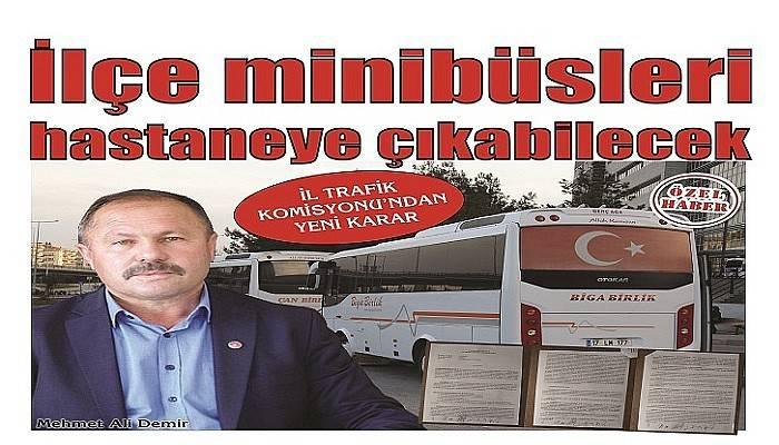 İL TRAFİK KOMİSYONU'NDAN YENİ KARAR