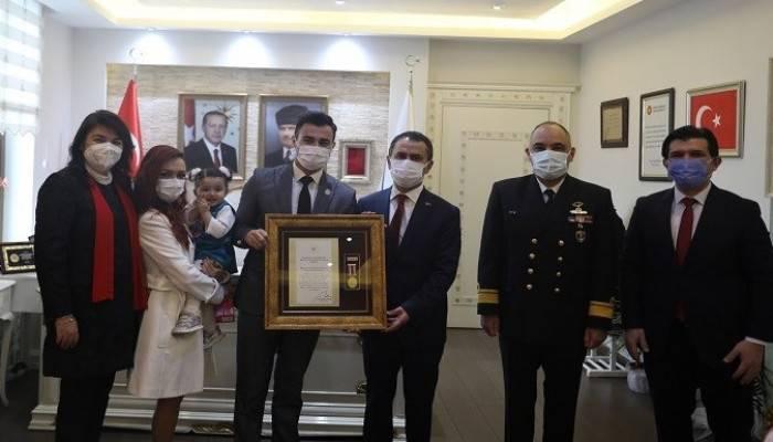 Devlet Övünç Madalyası ve Beratı Tevcihi Töreni Yapıldı