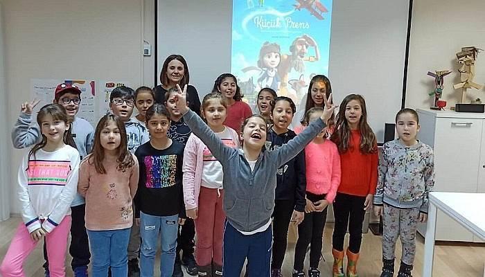 Çocuk Kültür Evi'nde 100. Film Buluşması