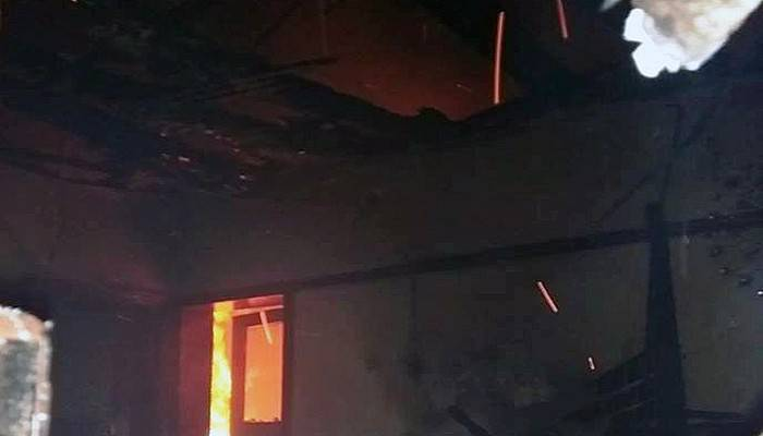 5 kişinin yaşadığı ev kül oldu
