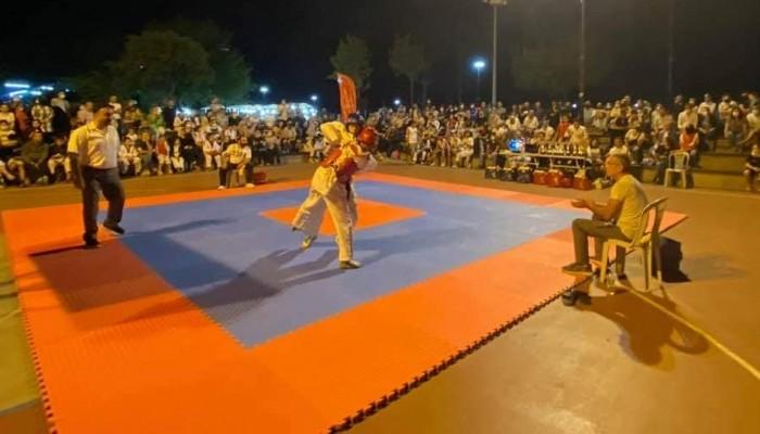 Milli Sporcular Mindere Çıktı, Taekwondo Turnuvası Nefes Kesti