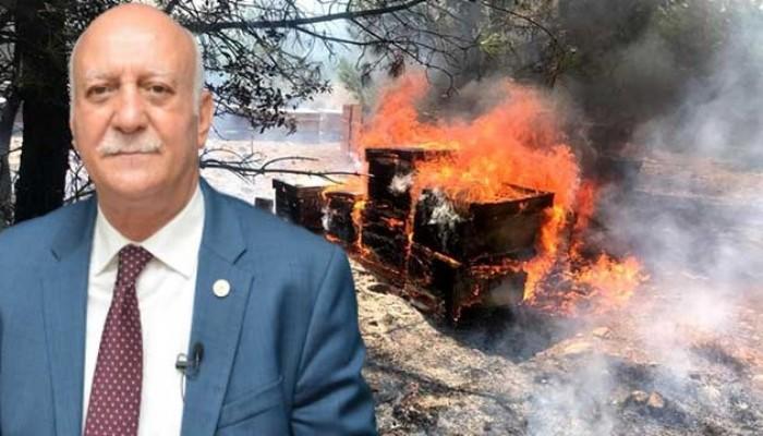 """""""Kuraklık ve yangın gibi felaketler arıcılığa büyük zarar vermiştir"""""""