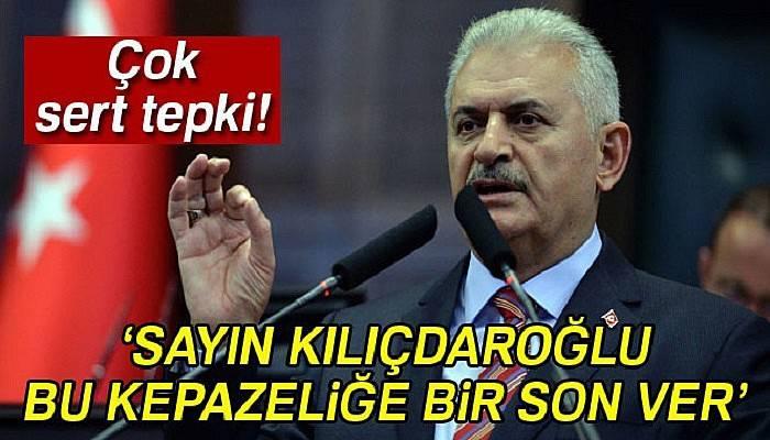 Başbakan Yıldırım'dan CHP'li Akaydın'ın açıklamalarına tepki