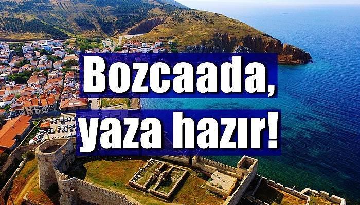 Turizm cenneti Bozcaada'da, konaklama tesisleri açıldı (VİDEO)