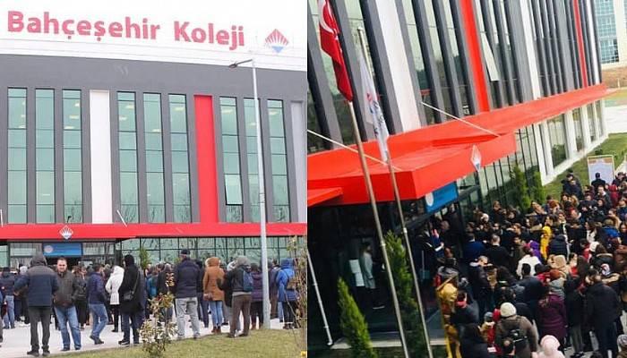 Bahçeşehir Koleji'nin bursluluk sınavına yoğun ilgi