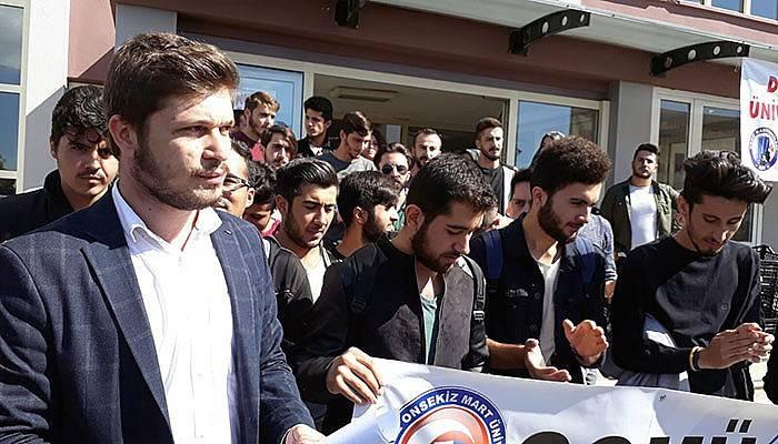 Gökhan'a bir tepki de Öğrenci Konseyinden (VİDEO)