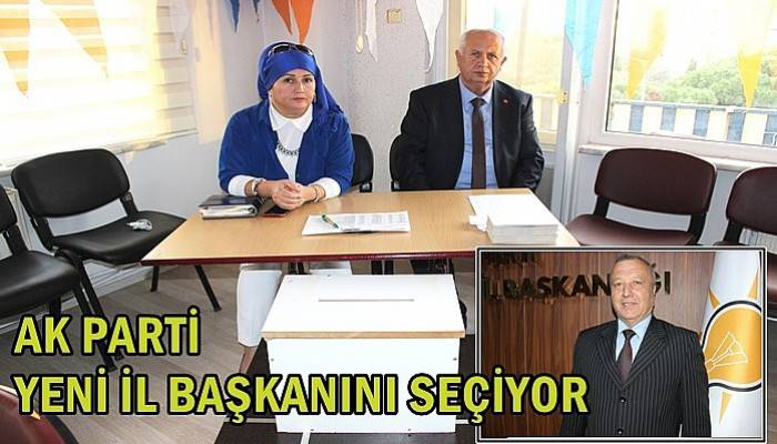 AK Parti yeni il başkanını seçiyor