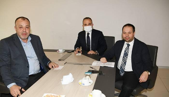 Turan, oda başkanları ile buluştu