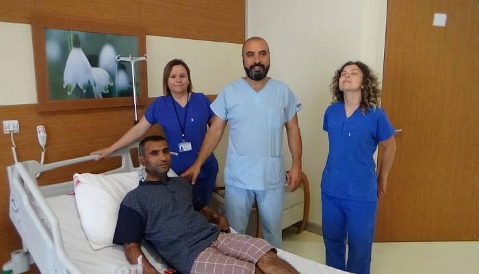 Sağlığına 6 ay sonra kavuştu (VİDEO)