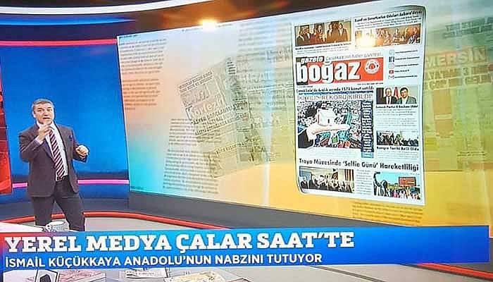 Boğaz Gazetesi, İsmail Küçükkaya ile Çalar Saat'te