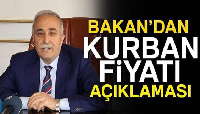 Gıda Tarım ve Hayvancılık Bakanı Fakıbaba'dan Kurban Bayramı müjdesi