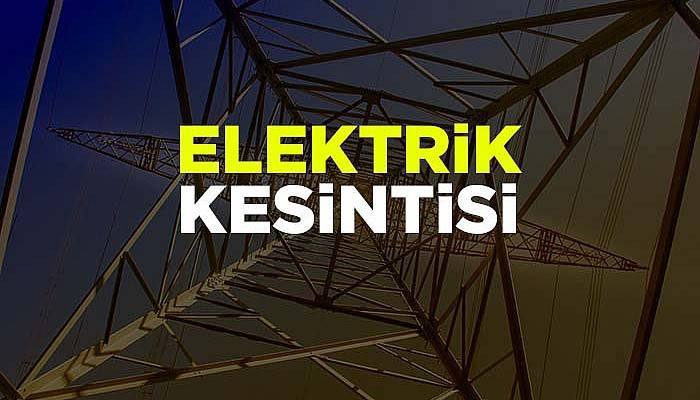 Çanakkale Merkez'de elektrik kesintisi olacak!