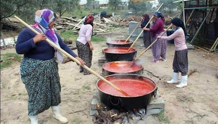 Etno-Köy Çıplak Köyünde Gelenek Sürdürüldü
