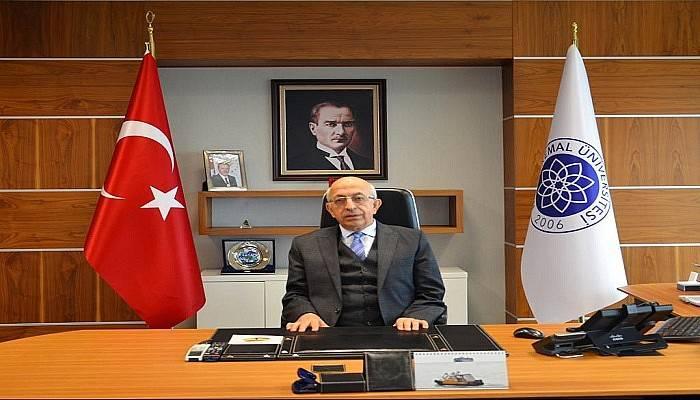 Rektör Murat'tan Kıbrıs Barış Harekatı mesajı