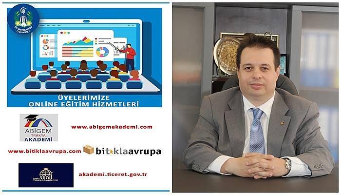 Ticaret Borsası'ndan üyelerine online eğitim