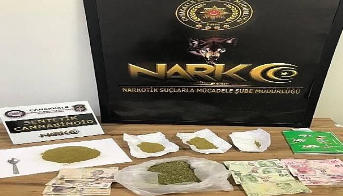 Çanakkale'de uyuşturucu operasyonu: 1 tutuklu, 23 gözaltı