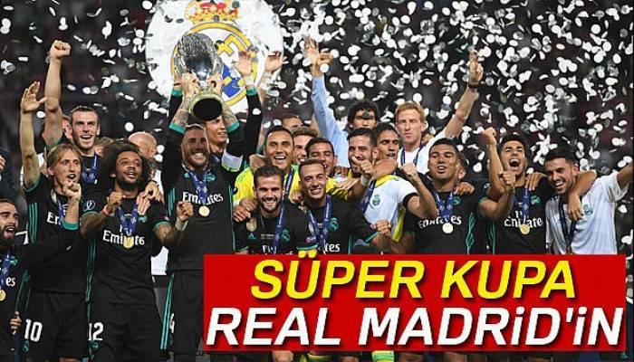 Süper Kupa, Real Madrid'in