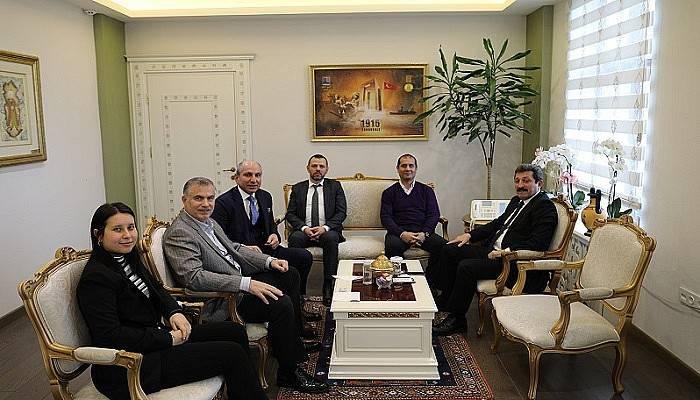 Dentur Avrasya Yöneticileri Vali Tavlı'yı Ziyaret Etti
