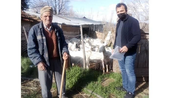İlçe tarım köylerde destekleme tespitleri yaptılar