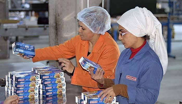 Bu fabrikada çalışanların yüzde 80'i kadın