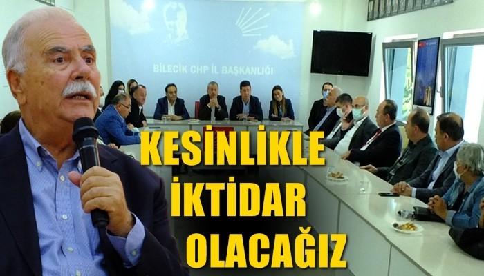 Başkan Gökhan; 'Kesinlikle iktidar olacağız'