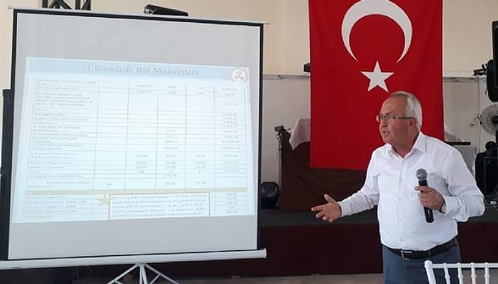 Trakya 16. Geleneksel Bal Maliyetleri olağan toplantısı yapıldı