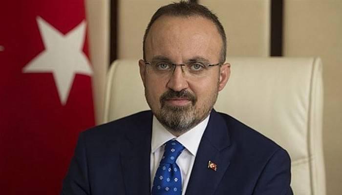 Turan, Cumhurbaşkanı Erdoğan İle Birlikte KKTC'nin 37. Kuruluş yılı törenlerine katıldı