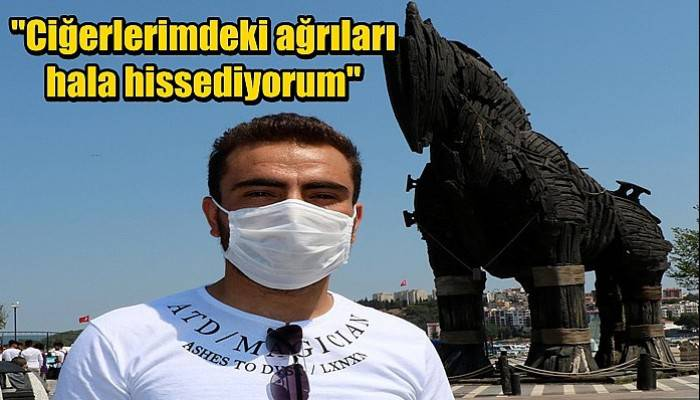 Koronavirüsü yenen üniversiteli Mehmet: Ciğerlerimdeki ağrıları hala hissediyorum (VİDEO)