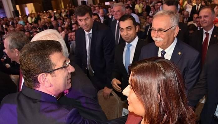 Başkan Gökhan, İmamoğlu'nun kampanya toplantısında