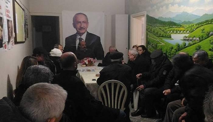 Lapseki CHP ilçe teşkilatı istişare toplantısı yaptı