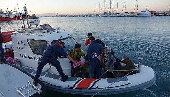 Çanakkale'de 84 kaçak göçmen yakalandı (VİDEO)