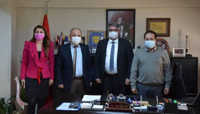 Defterdar Ekici'ye Vergi Haftası Ziyareti