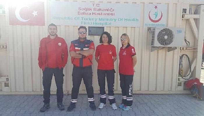 Çanakkale UMKE'den Kilis'e 4 personel görevlendirildi