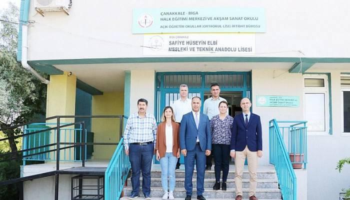 İlçe Milli Eğitim Müdürü Bilen'den Okul Ziyareti