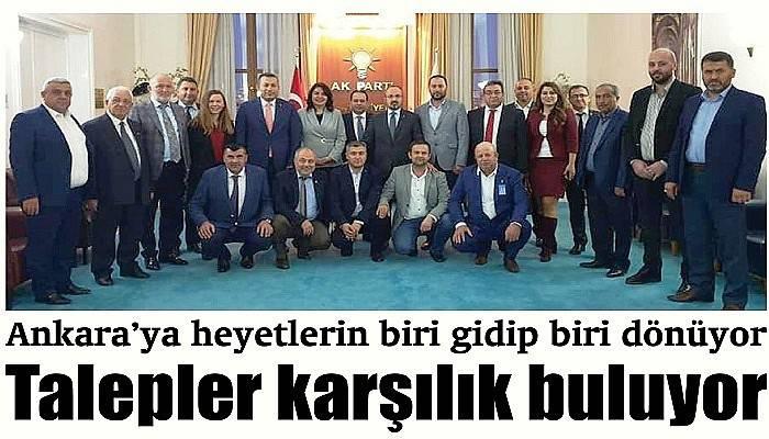 Ankara'ya heyetlerin biri gidip biri dönüyor Talepler karşılık buluyor