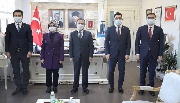 Kaymakam Adaylarından Vali Aktaş'a Ziyaret