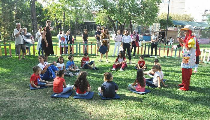 Çocuk etkinlikleri düzenlendi