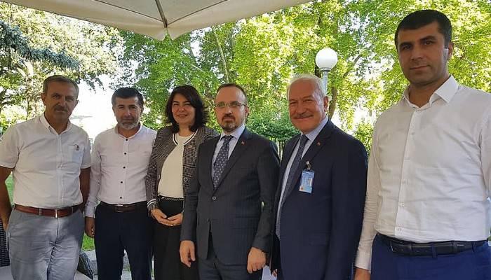 Eski İlçe Başkanı, Turan'dan Özür Diledi