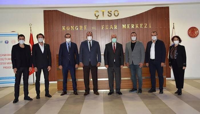 Başkan Gökhan'dan ÇTSO Ziyareti