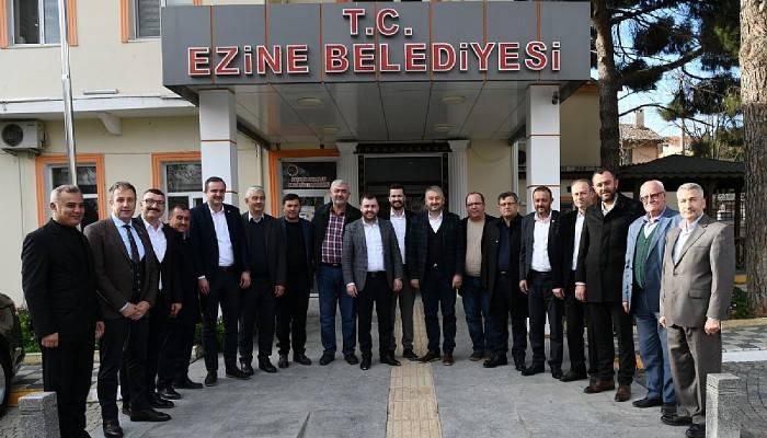 AK Parti İl Genel Meclisi Üyeleri Ezine'de bir araya geldi